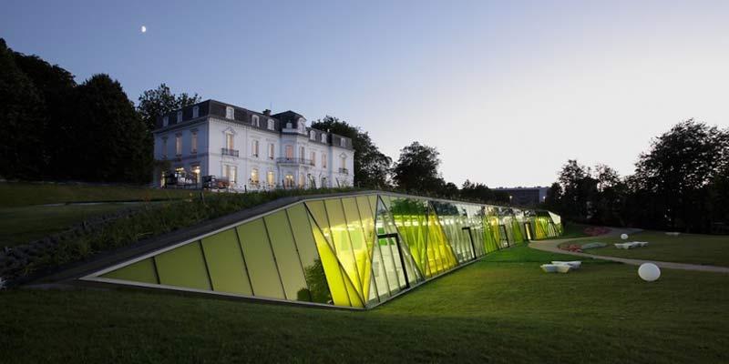 Роскошь и инновационный ландшафт - Aiete Park