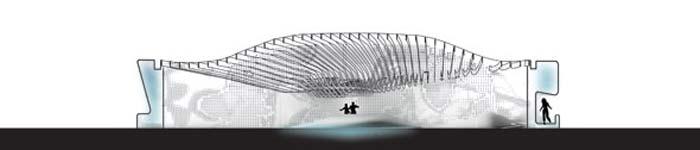 Проект самоохлаждающегося дома в пустыне - Hydro House Concept